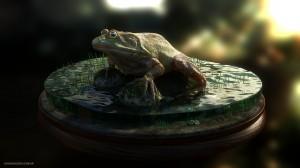 Frog Turntable